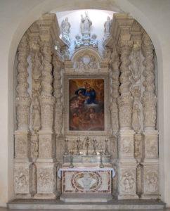 P.Buffelli, Altare delle Anime (1668)