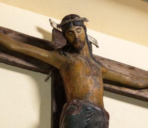 """Crocifisso """"Nero"""" (sec. XIII, metà)"""